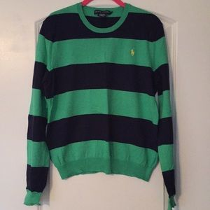 Ralph Lauren Rugby Stripe Sweater
